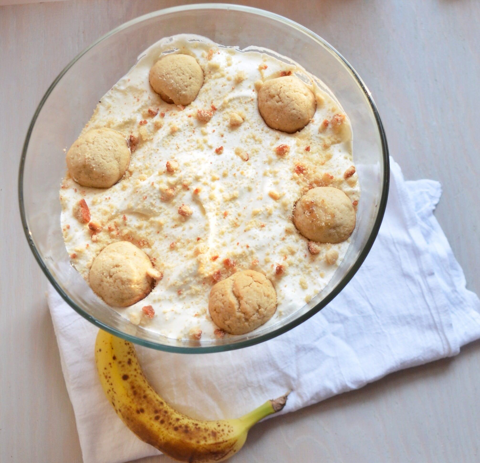 Banana Pudding with Vanilla Bean Wafers