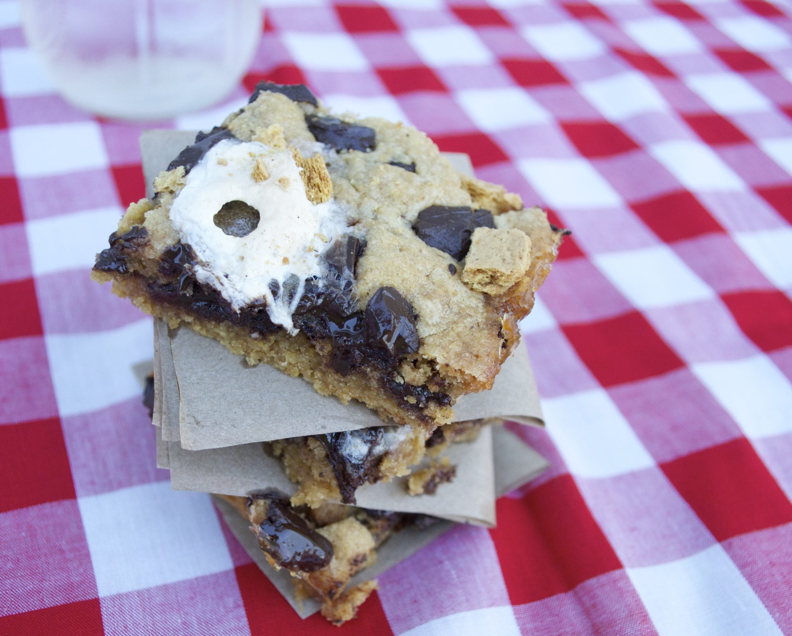 Campfire Cookie Bars