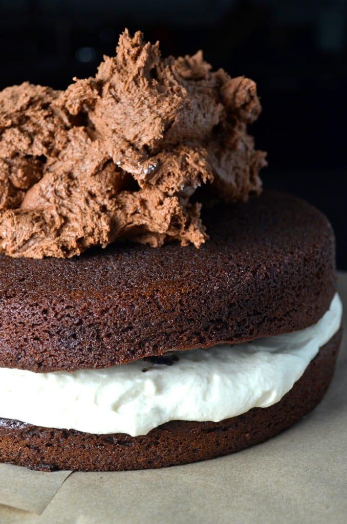 Indulgent Chocolate Oreo Cake