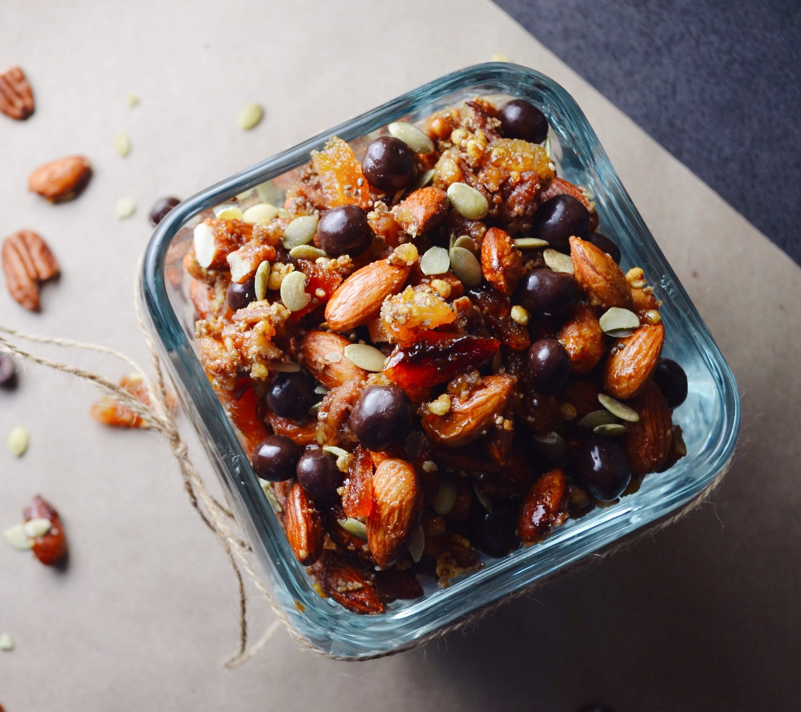 Energizing Baked Trail Mix