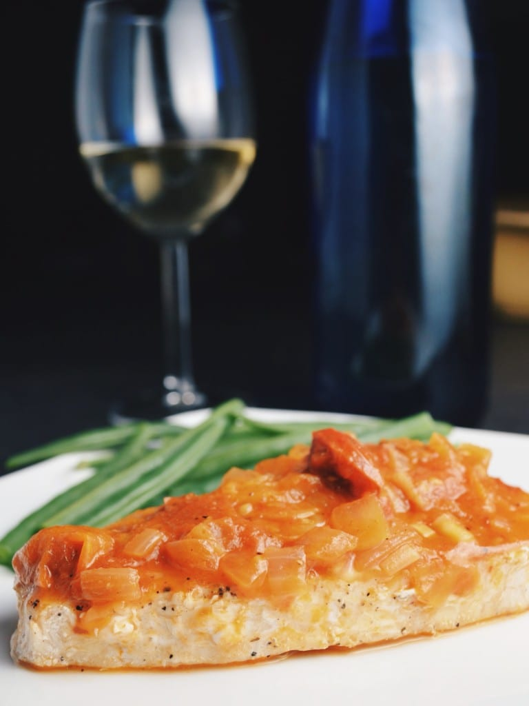 Swordfish Provençal