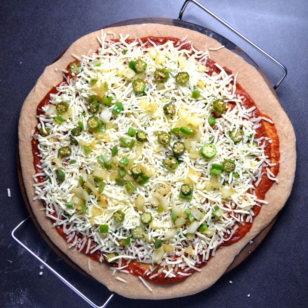 Gumbo Pizza