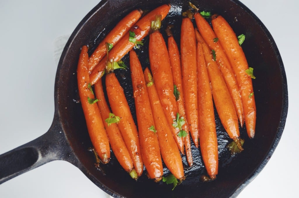 Honey Chipotle Glazed Carrots