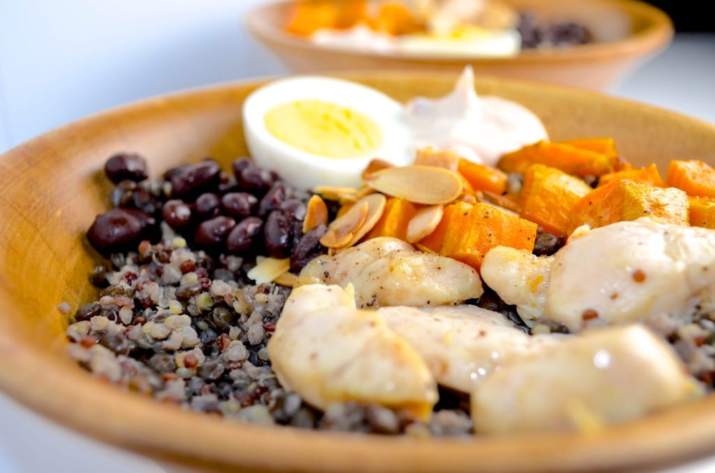 Flavor Packed Protein Bowl