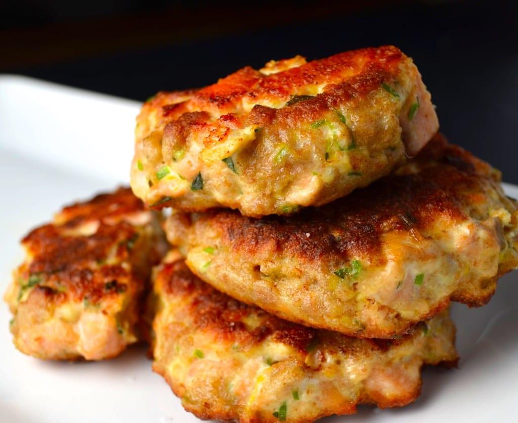 Mediterranean Salmon Burgers