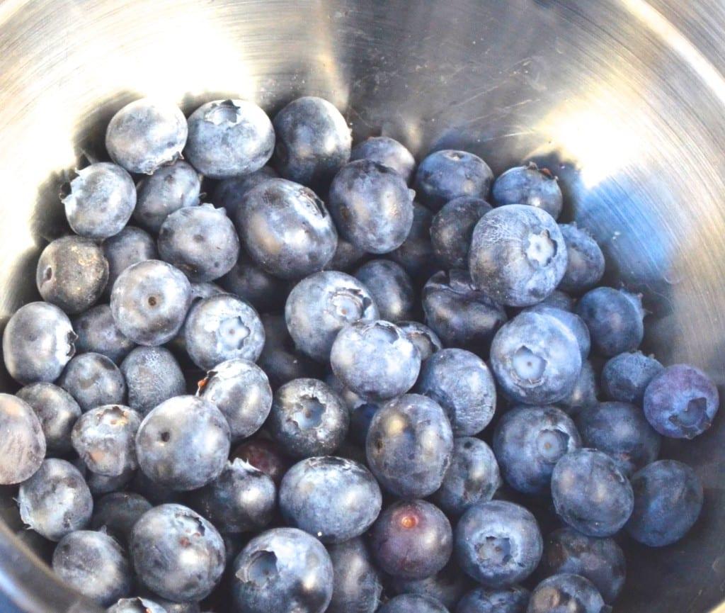 Blueberry Lavender Icebox Cake