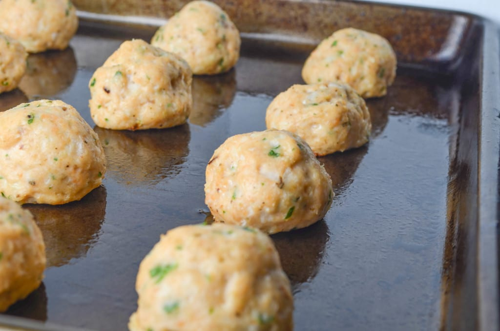 Italian Salmon Meatballs