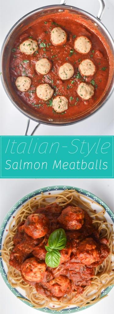 Italian-Style Salmon Meatballs