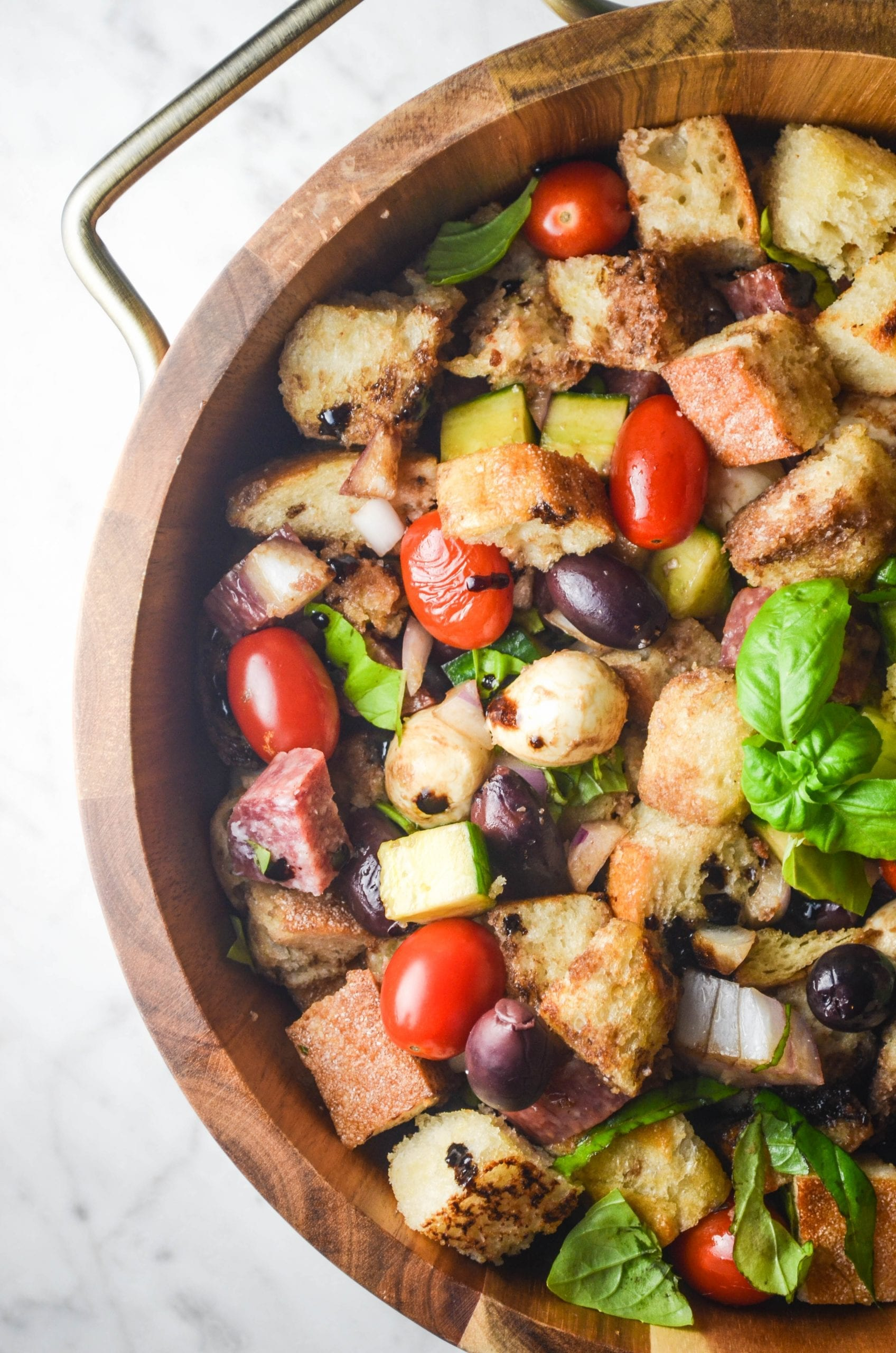 Hearty Summer Panzanella