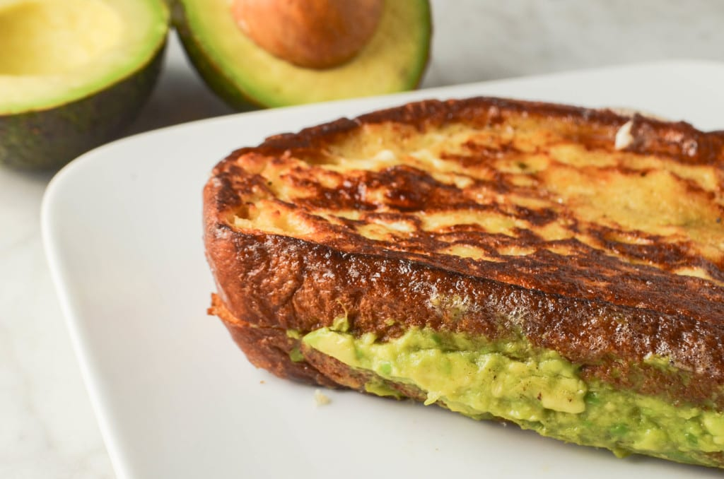 Avocado Stuffed French Toast