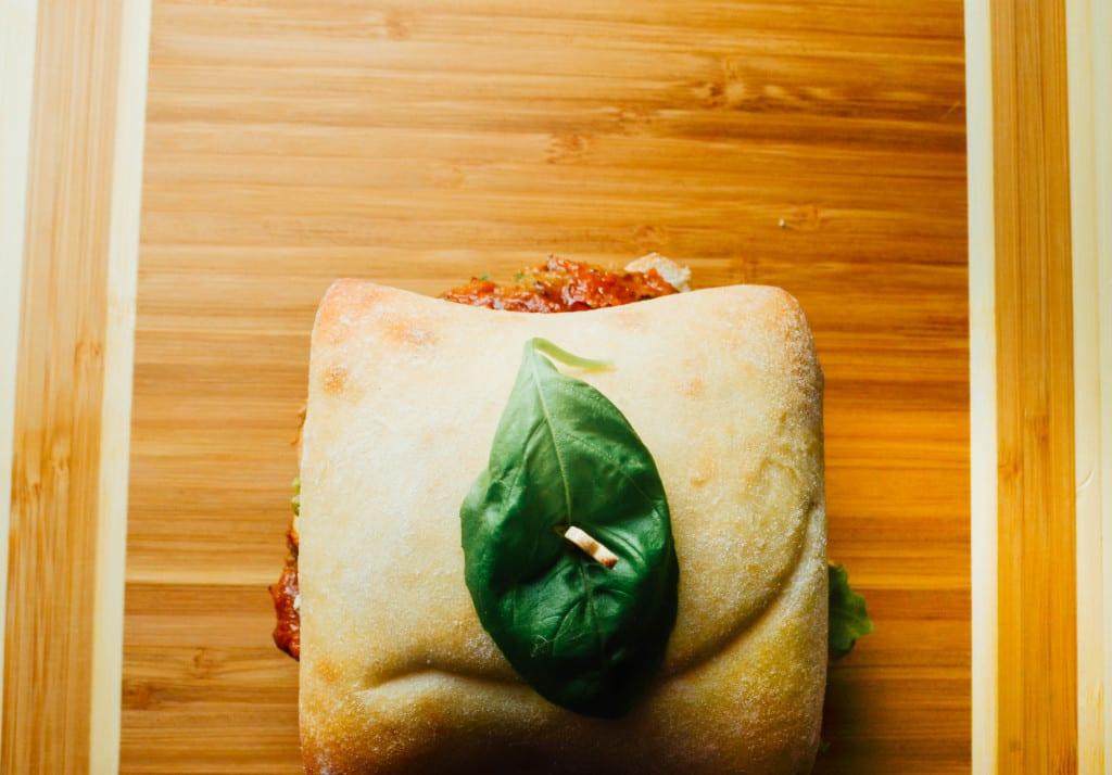 Mozzarella Stuffed Italian Burgers