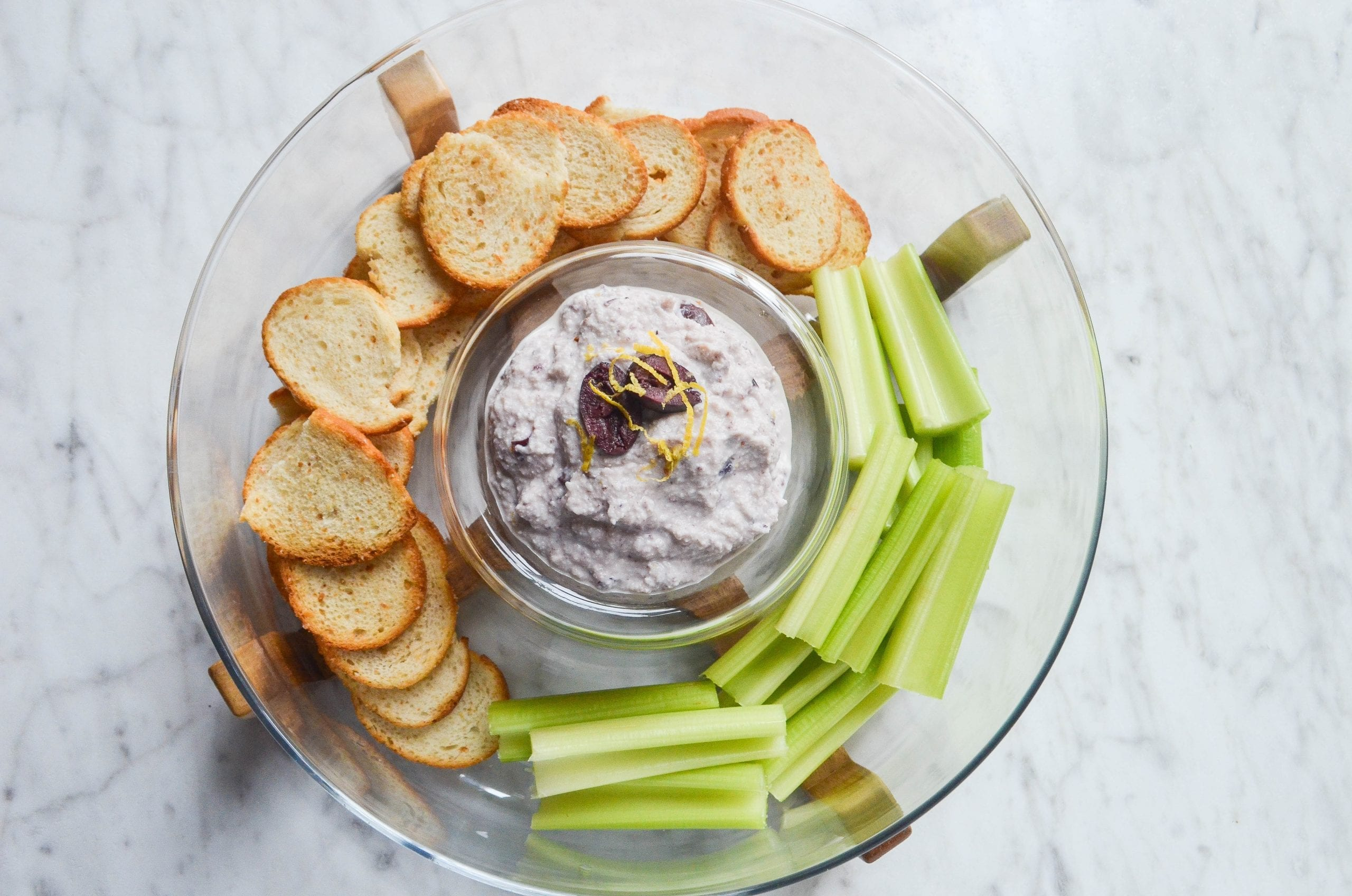 5 Ingredient Olive Ricotta Dip