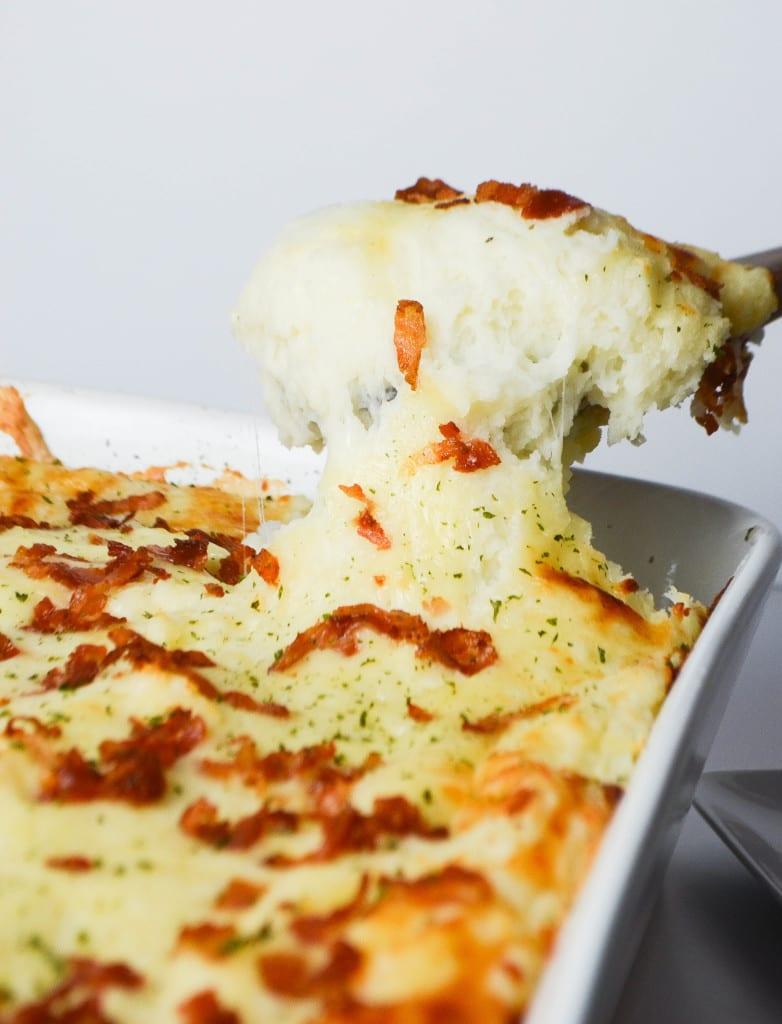 3 Cheese Mashed Potato Casserole