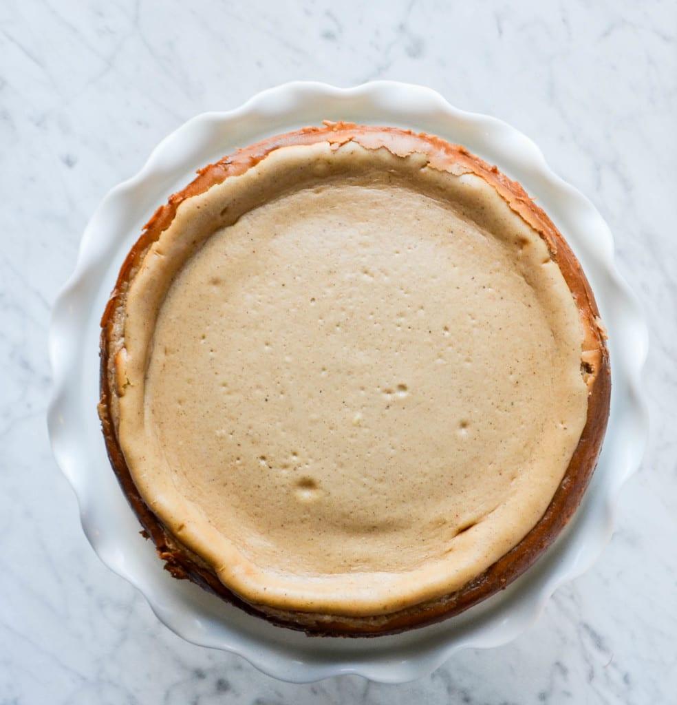 Dirty Chai Cheesecake