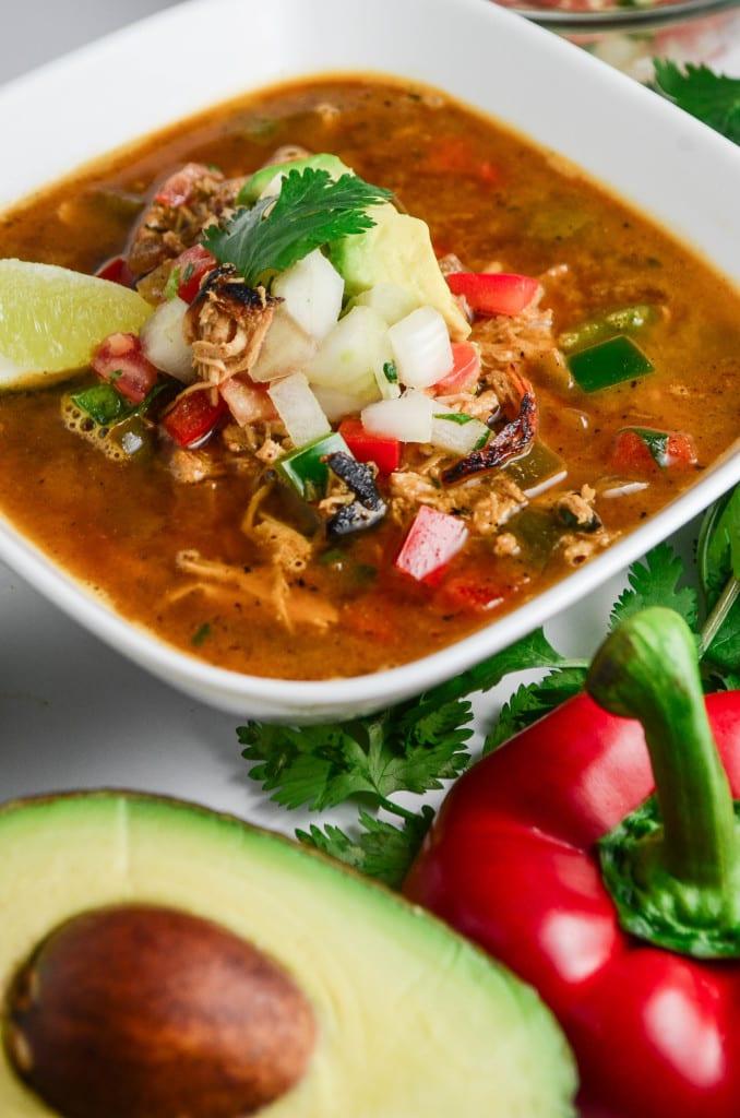 Blackened Fajita Soup
