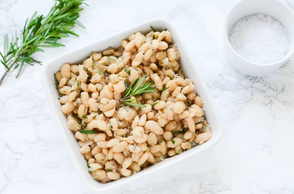 Pulses: Slow Cooker Rosemary White Beans