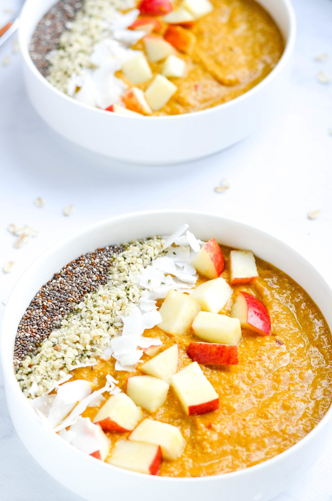 Pumpkin Apple Smoothie Bowl
