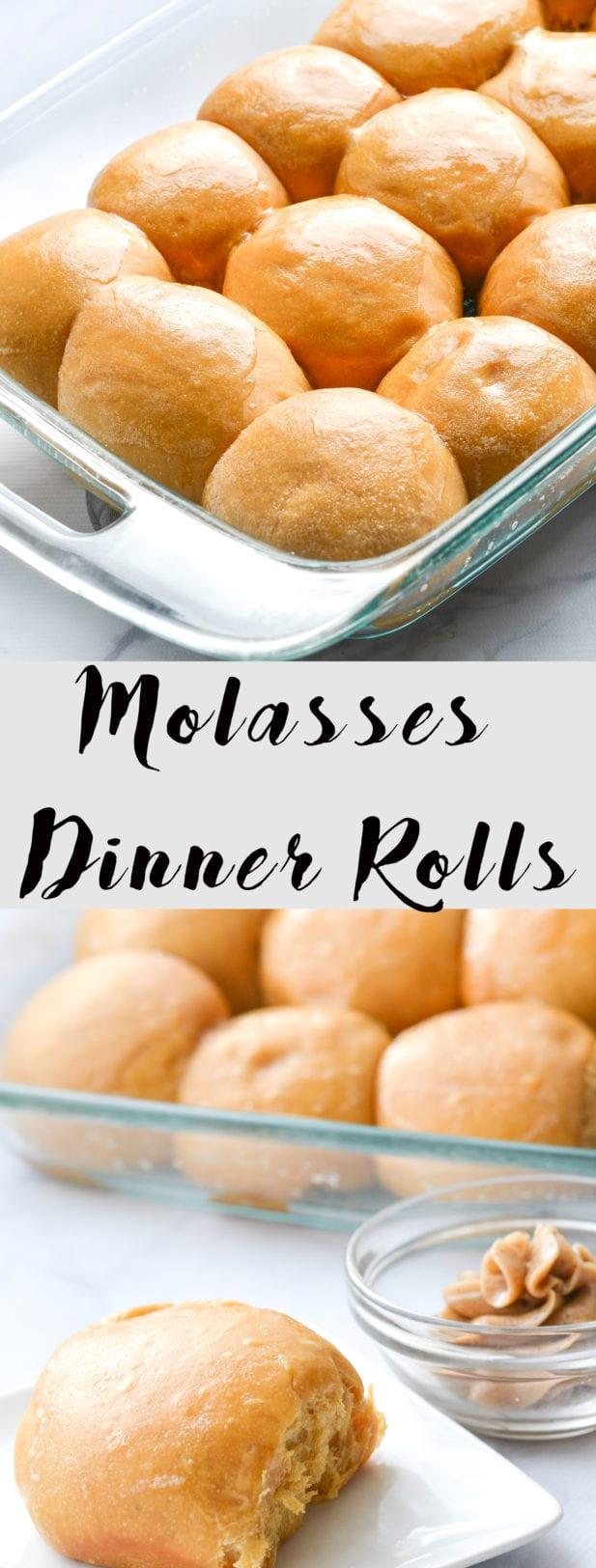 Molasses Dinner Rolls