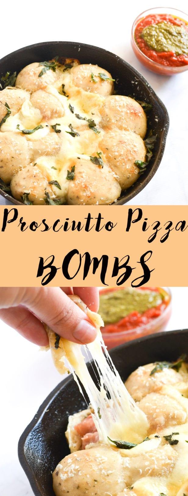 Prosciutto Pizza Bombs