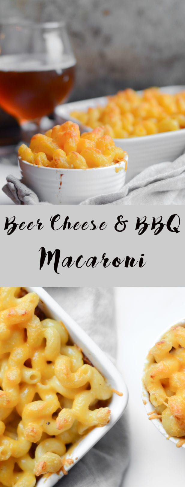 Beer Cheese and BBQ Macaroni