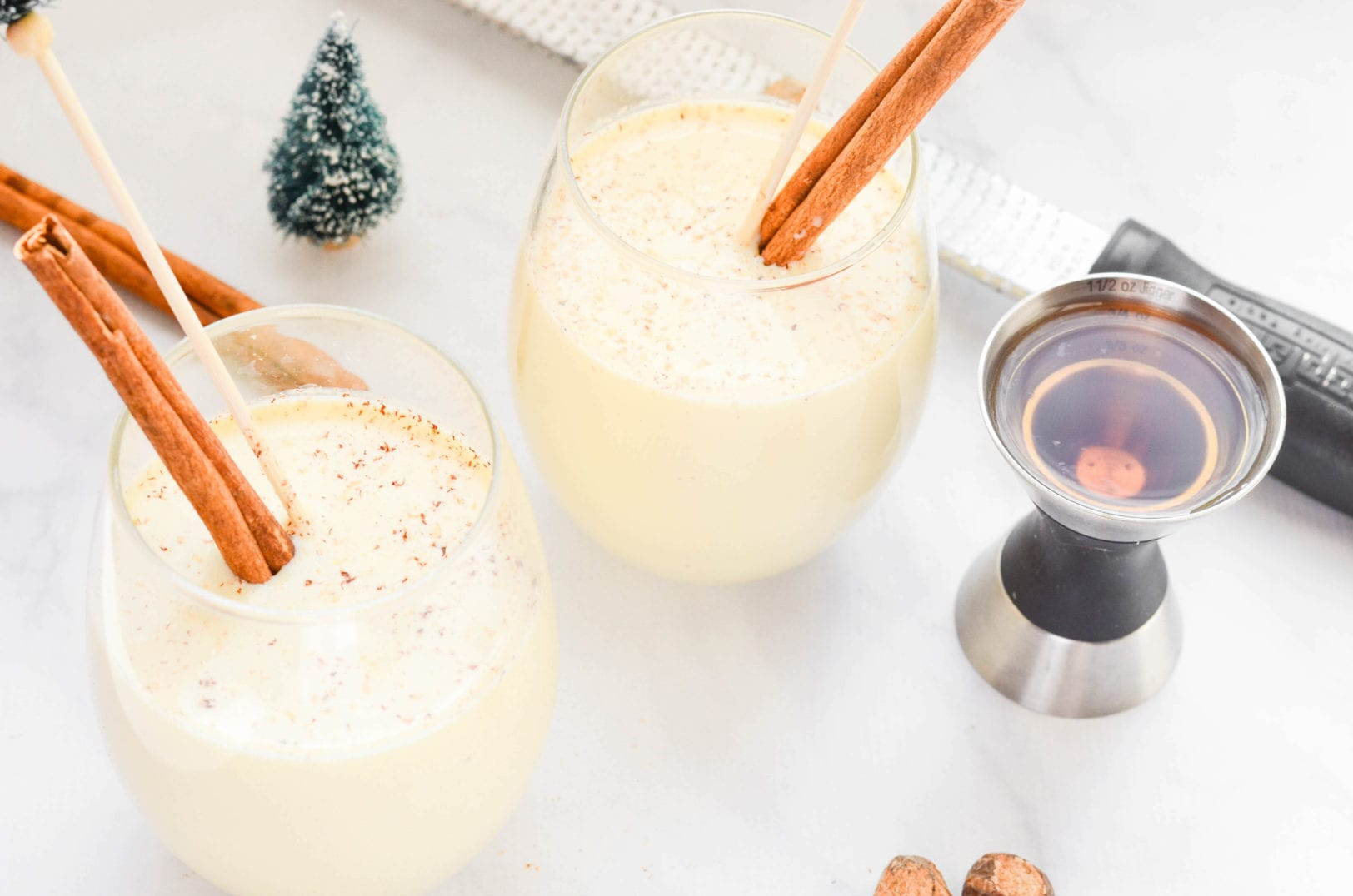Bourbon Coconut Milk Punch