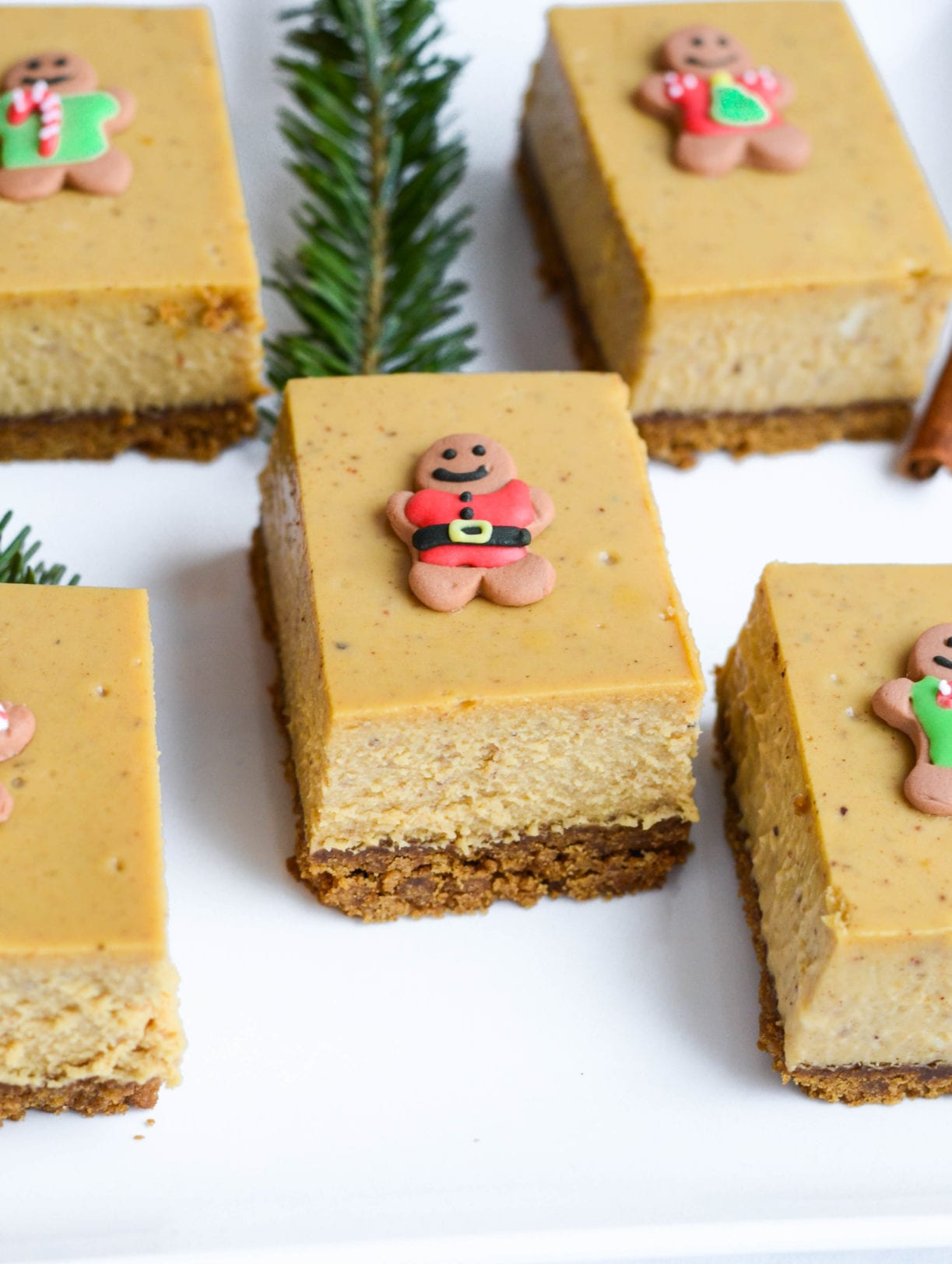 These Gingerbread Cheesecake Bars are the ultimate Christmas dessert ...