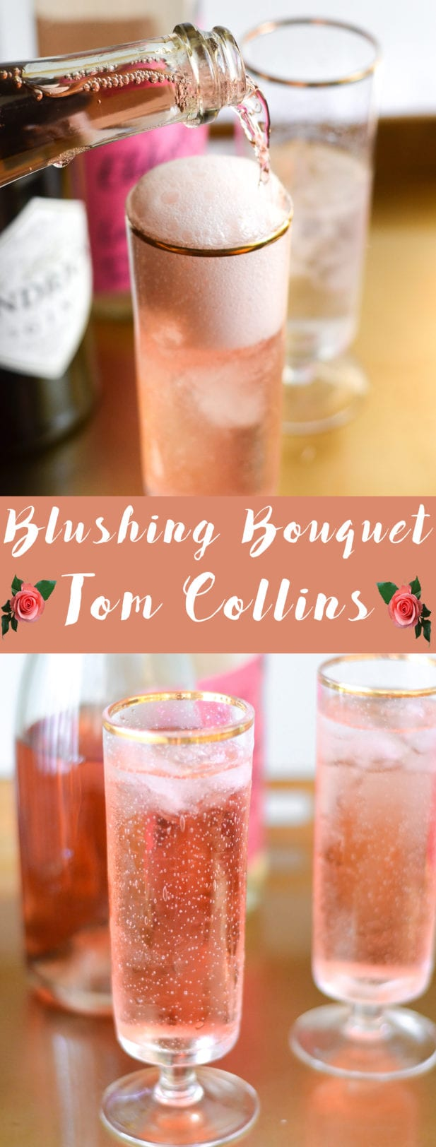Blushing Bouquet Tom Collins