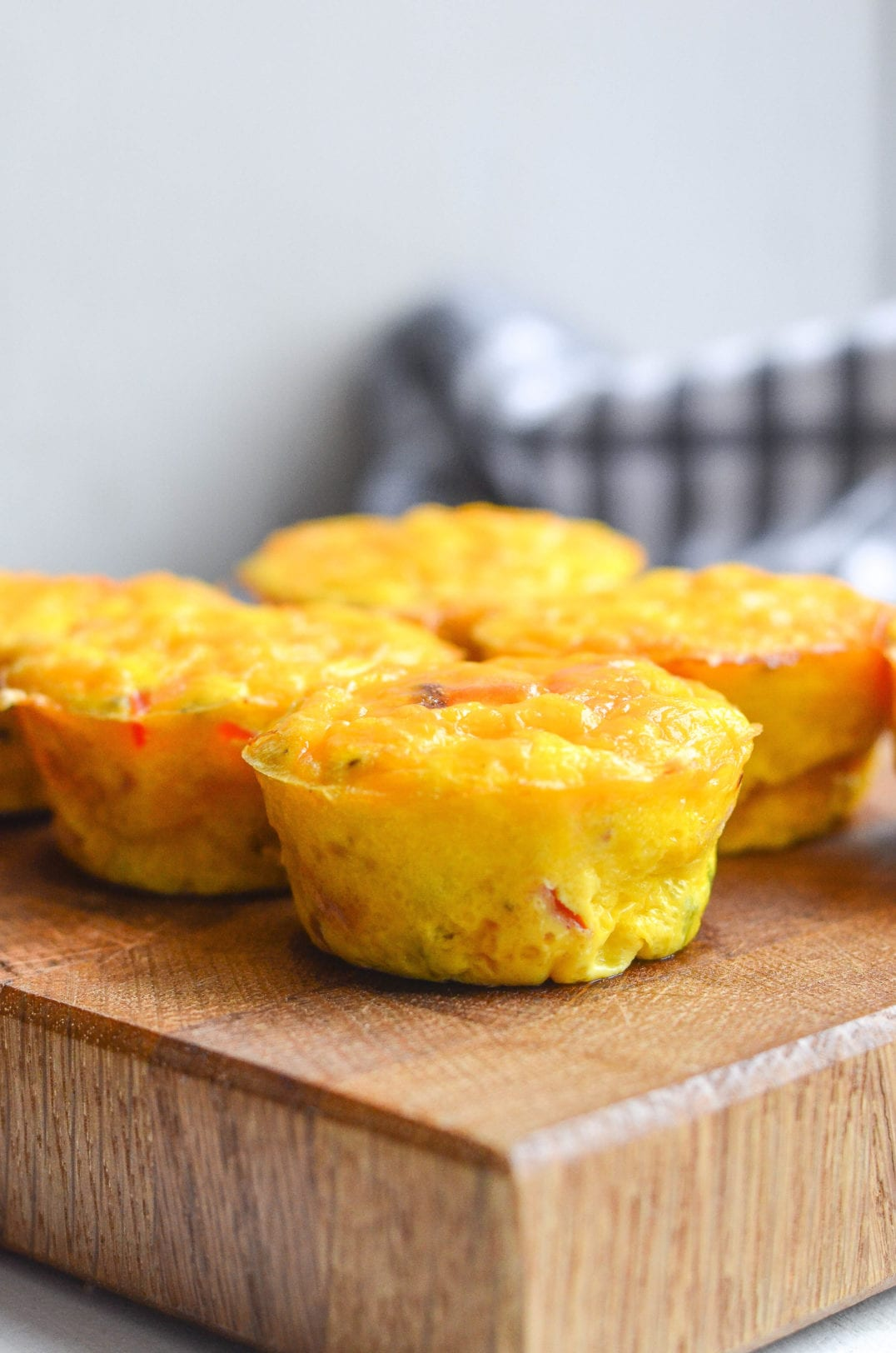 Ham and Cheddar Mini Frittatas
