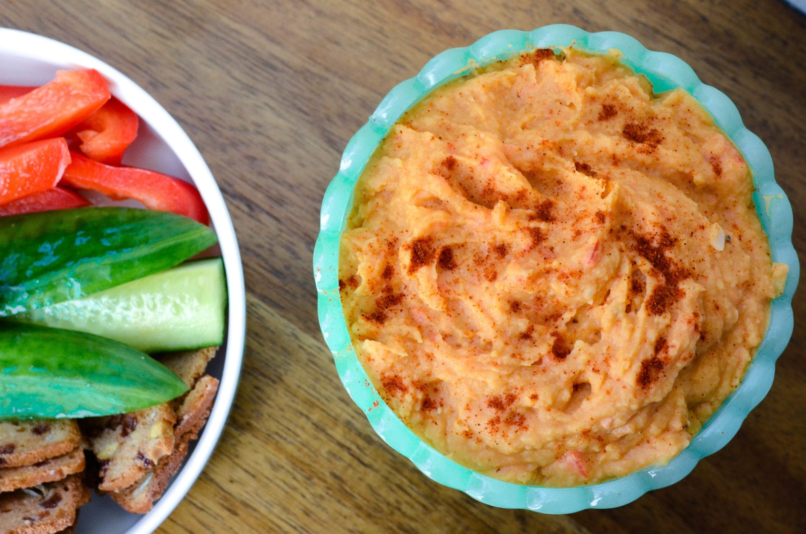 Spicy Sweet Potato Bean Dip