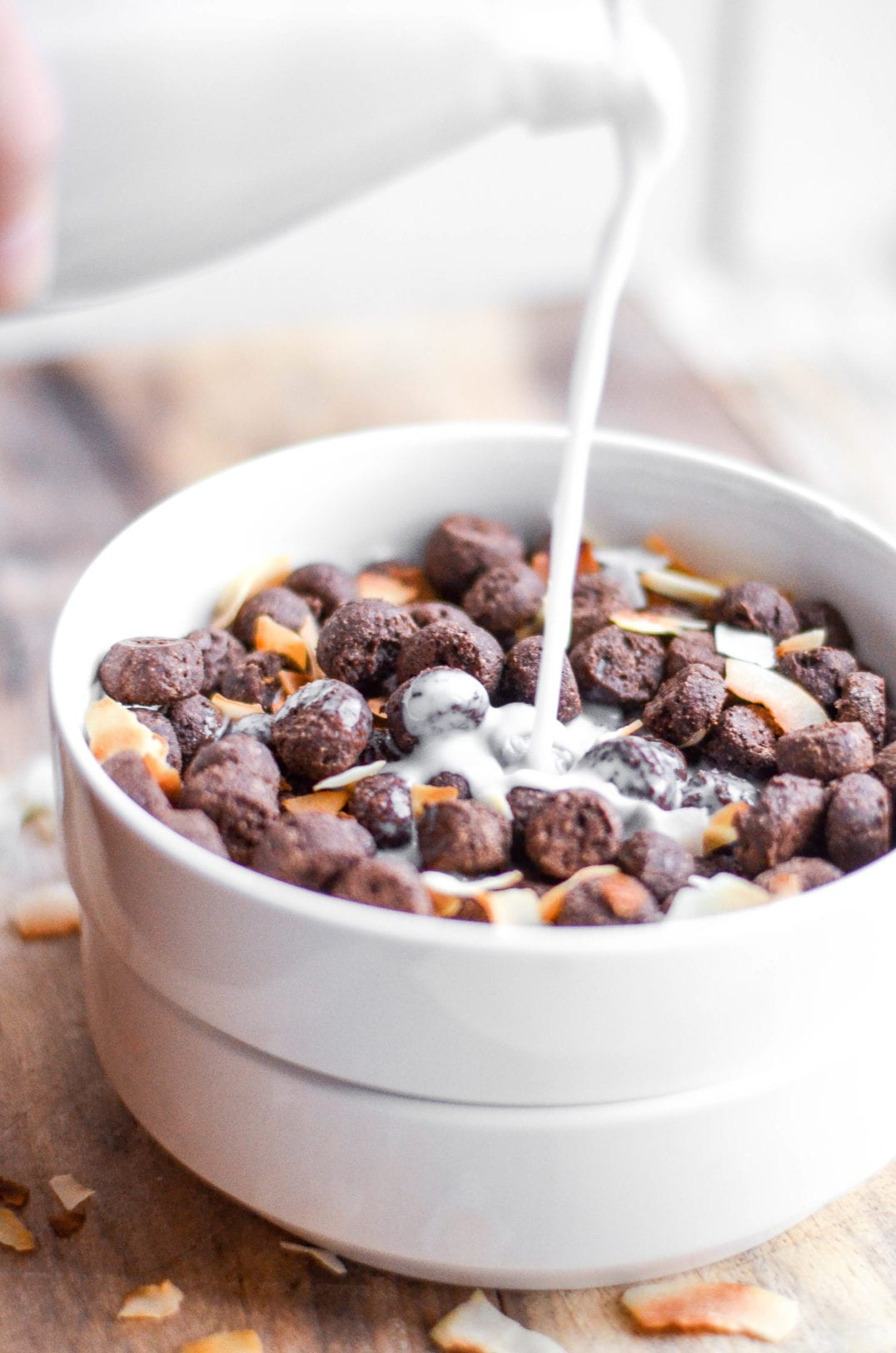 Whole Wheat Chocolate Coconut Cereal -
