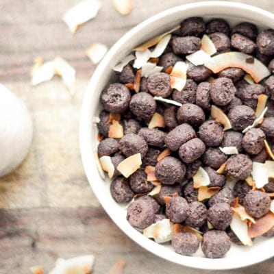 Whole Wheat Chocolate Coconut Cereal