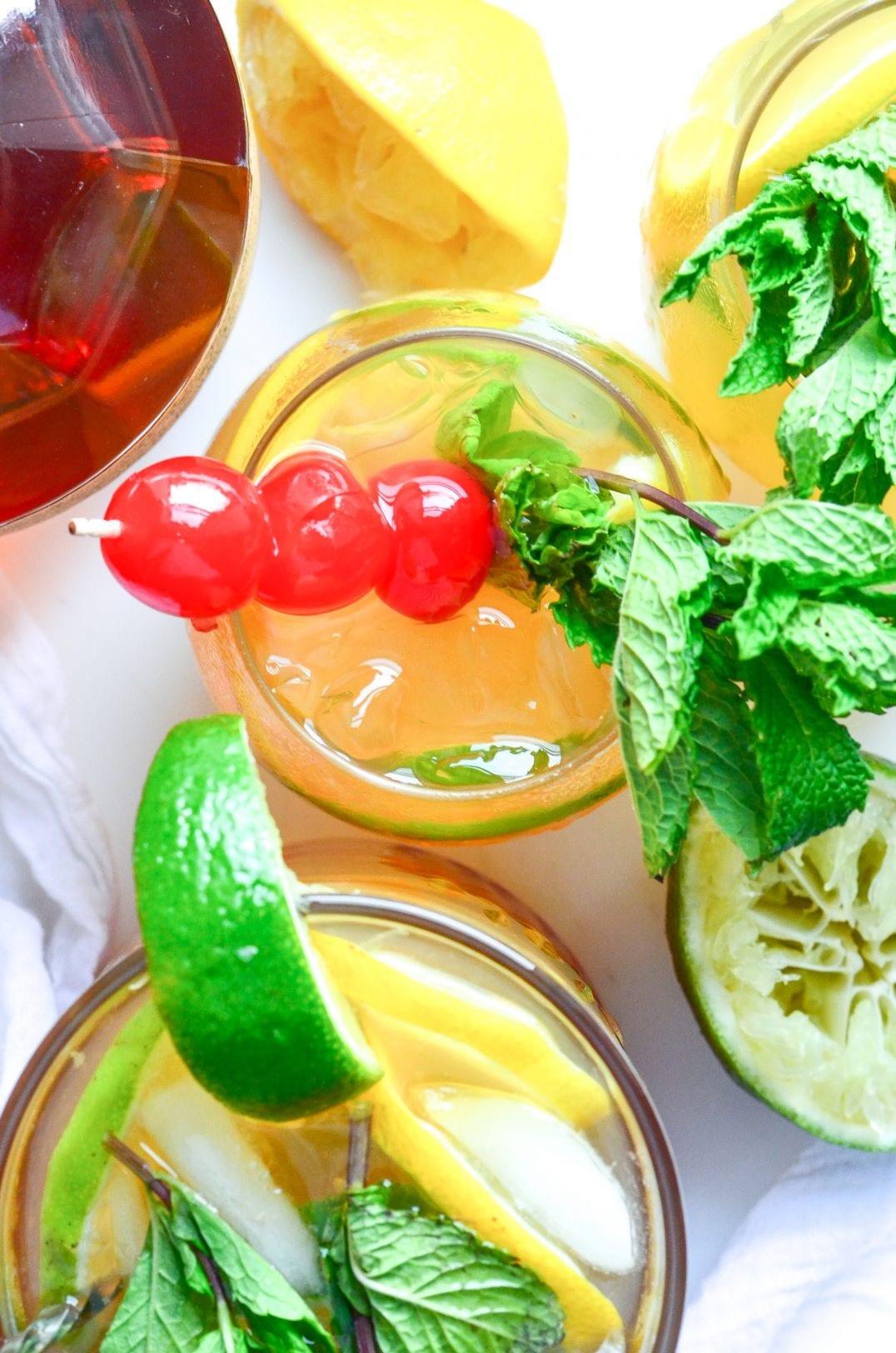Whiskey Sour Sangria