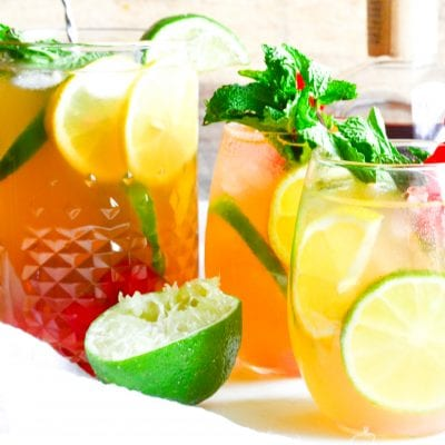 Whiskey Sour Sangria
