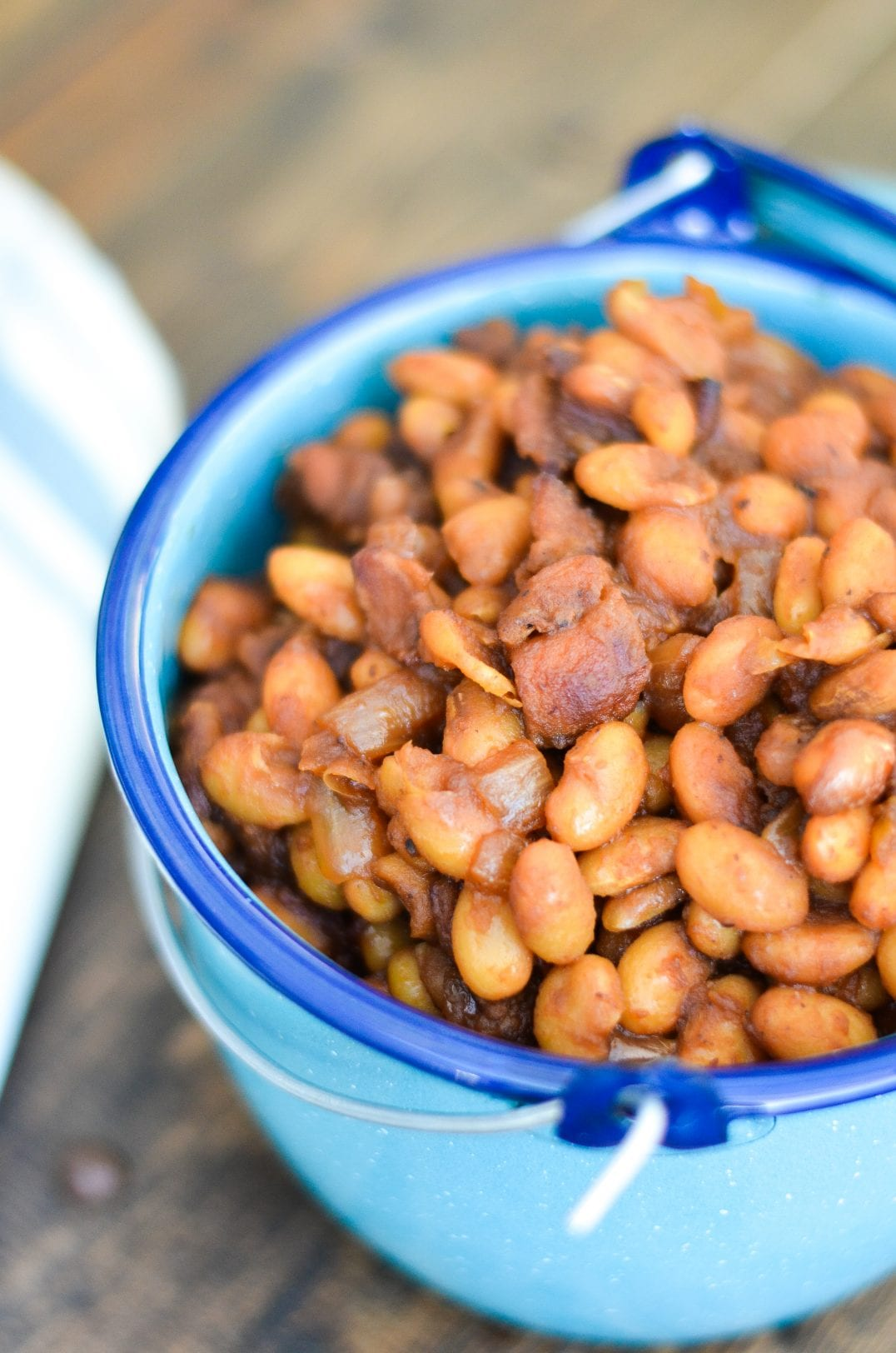 Cold Brew Coffee Baked Beans