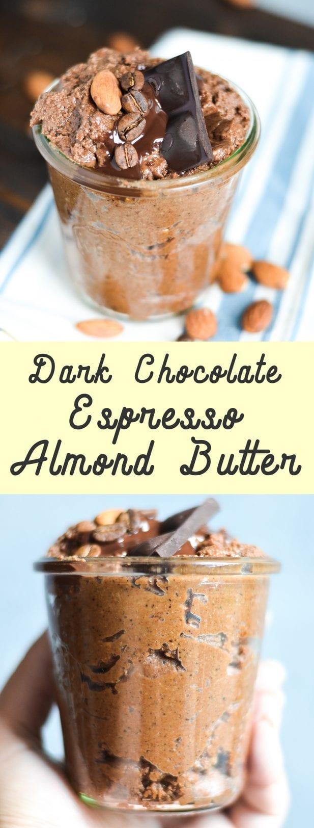 Dark Chocolate Espresso Almond Butter