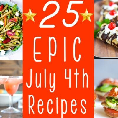 Ultimate 4th of July Menu