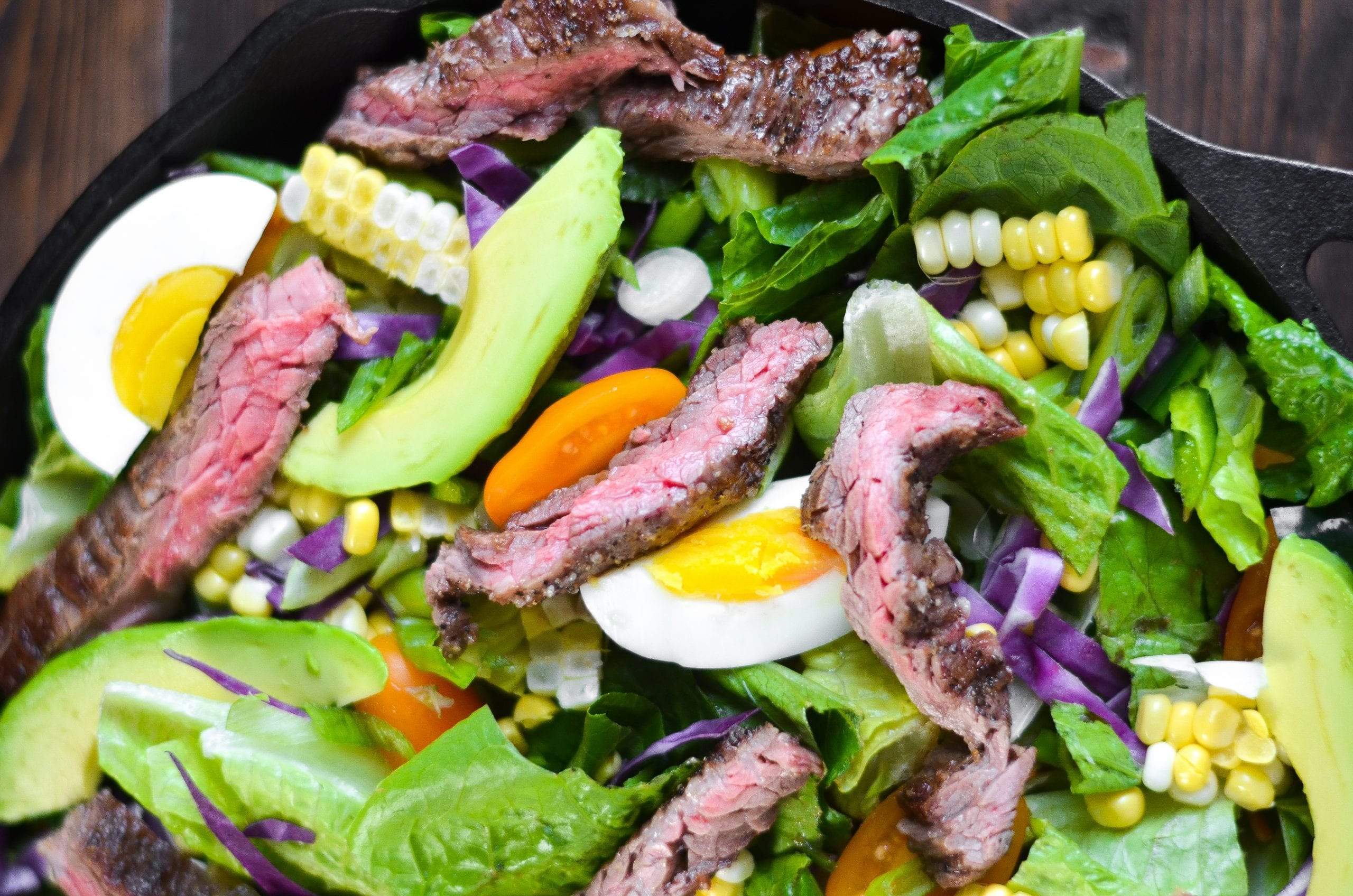 Southwest Steak Salad with Chipotle Ranch
