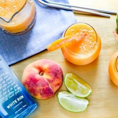 The Perfect Peach Daiquiris