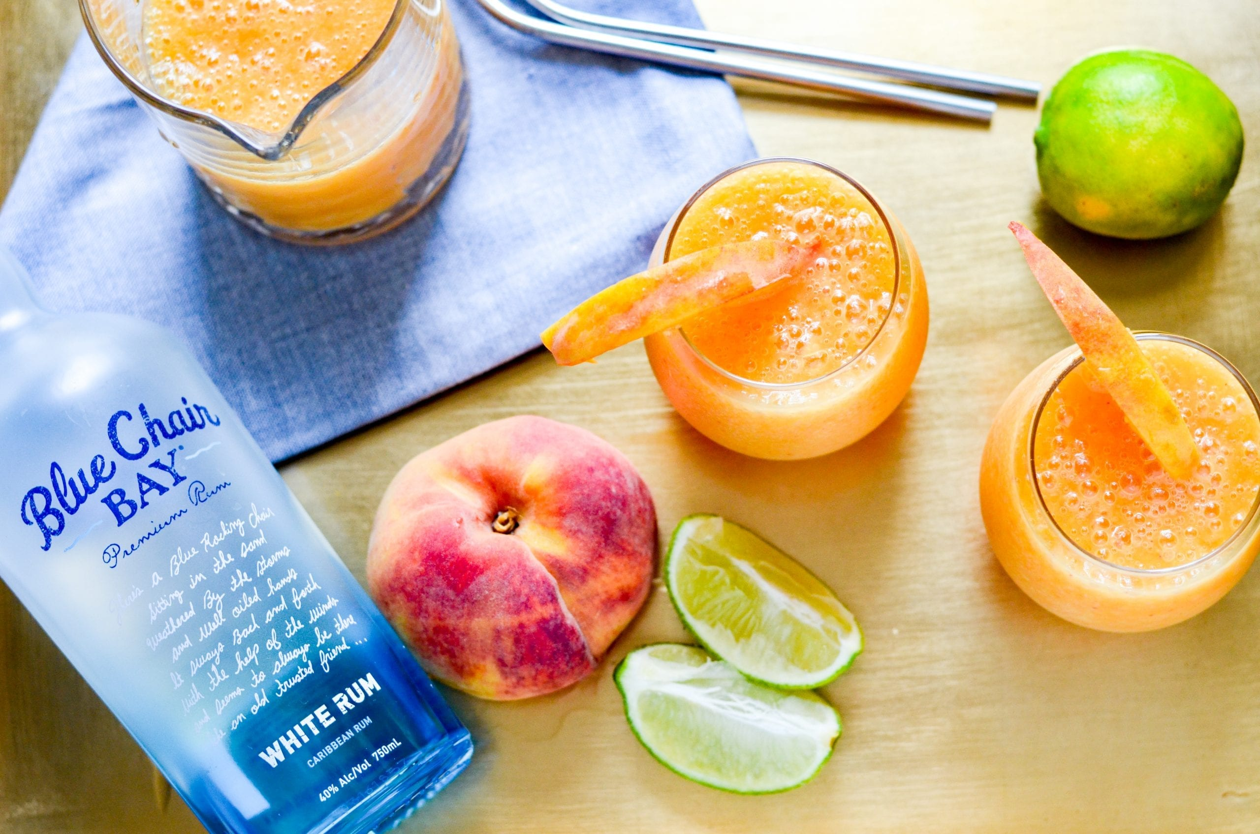 The Perfect Peach Daiquiris