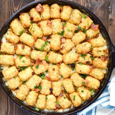 One Pot Chicken Cordon Bleu Hotdish