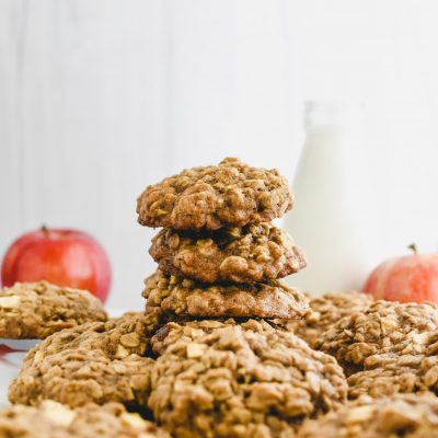Apple Crisp Cookies