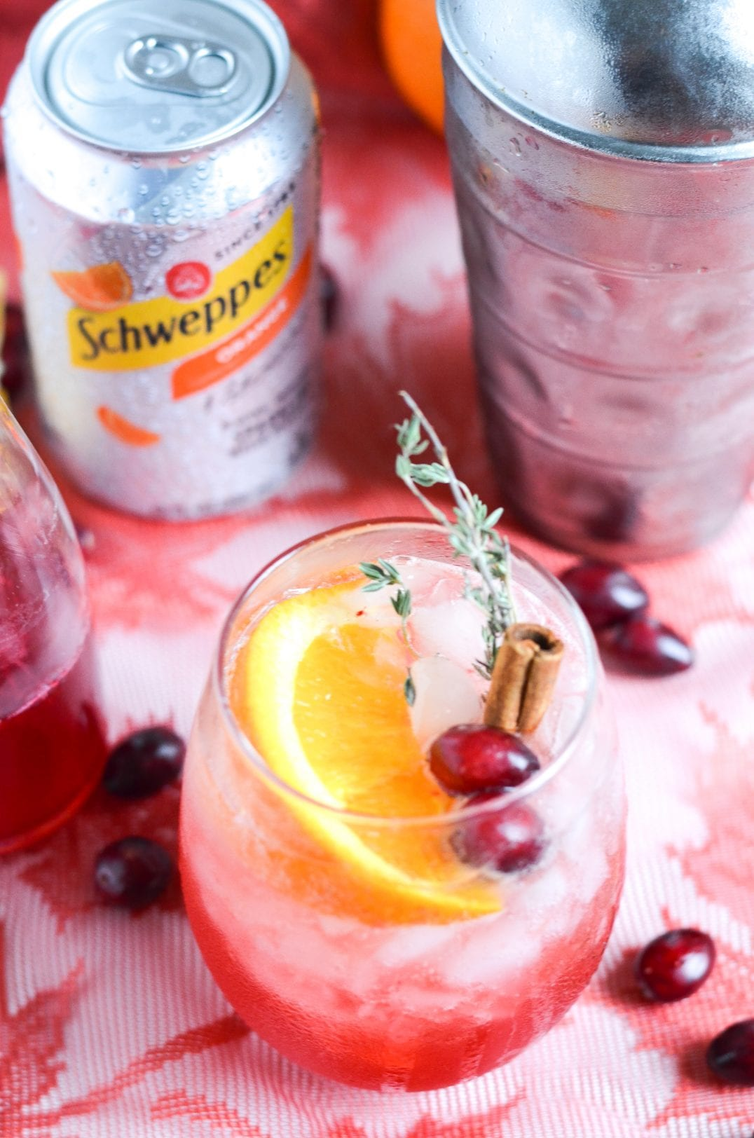 Cranberry Orange Bourbon Crush