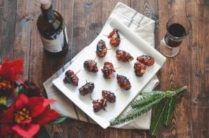 Devils on Horseback with Gochujang Gastrique