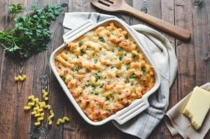 Creamy French Onion Mac and Cheese