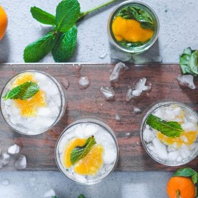 Mandarin Mint Spritzer