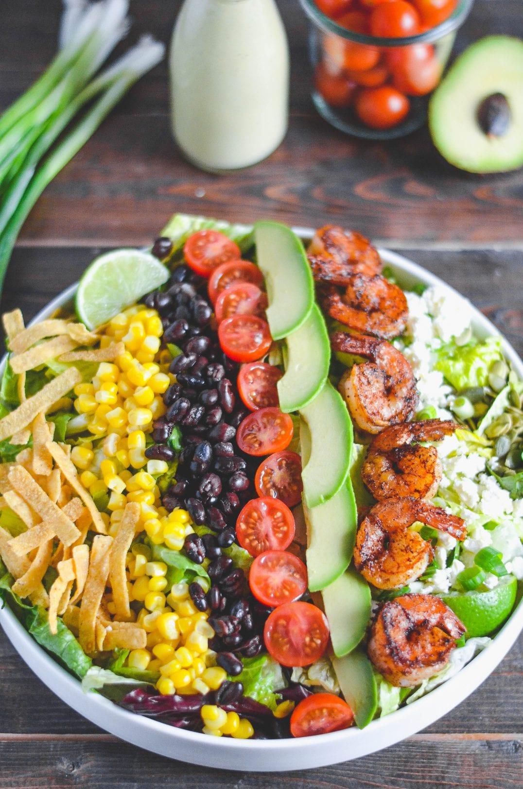 Southwest Fiesta Shrimp Salad