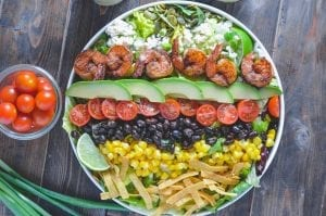 Southwest Fiesta Shrimp Salad