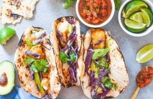 Crispy Beer Battered Fish Tacos