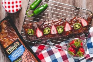 Strawberry Jalapeño Baby Back Ribs