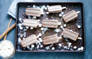 Chai Hot Chocolate Fudgesicles